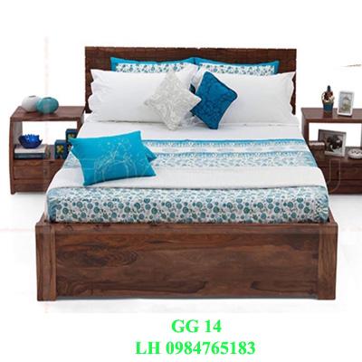 Đóng giường gỗ giá rẻ