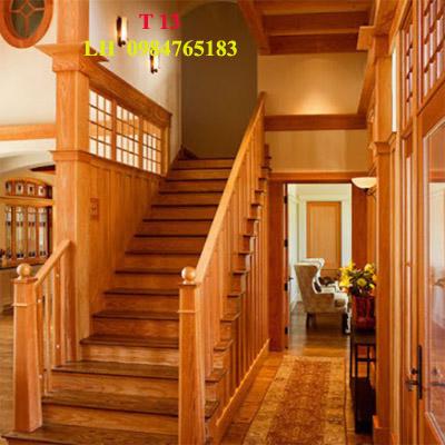 Thi công cầu thang gỗ tạ đà nẵng