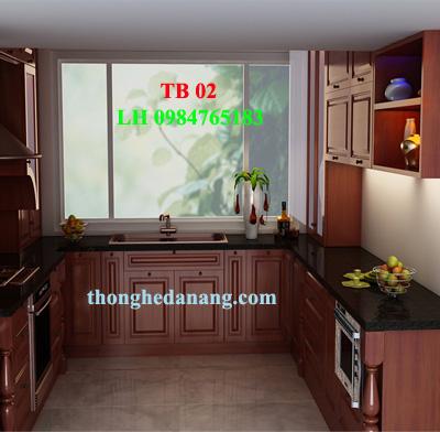 Thợ đóng tủ bếp tại đà nẵng