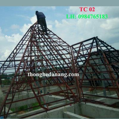 thi công nhà khung thép tại Đà Nẵng