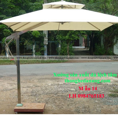 Dù lệch tâm vuông tại Đà Nẵng