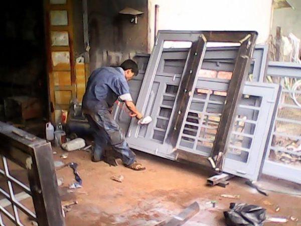 Báo giá sơn cổng sắt, hàng rào trọn gói tại Đà Nẵng